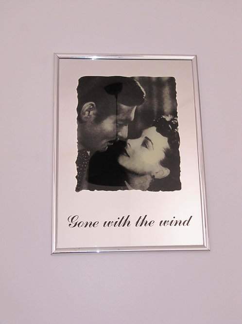 "Miroir ""Gone with the wind"" Vintage"