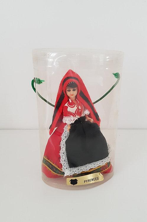Poupée miniature de collection - Les Pyrénées- Vintage