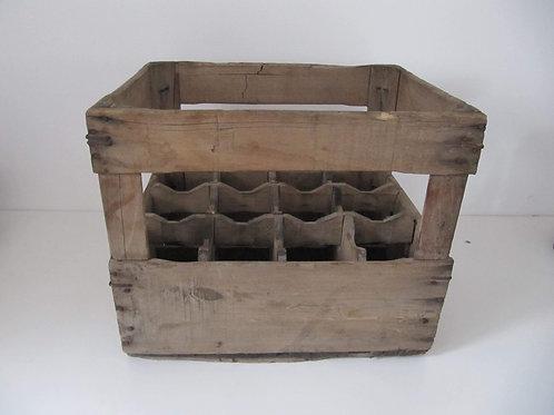 Casier à bouteilles bois ancien -