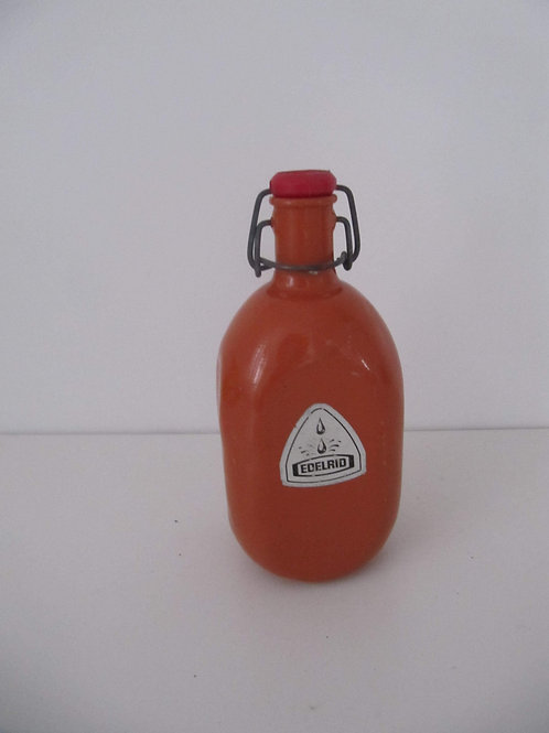 Gourde de camping orange - Vintage