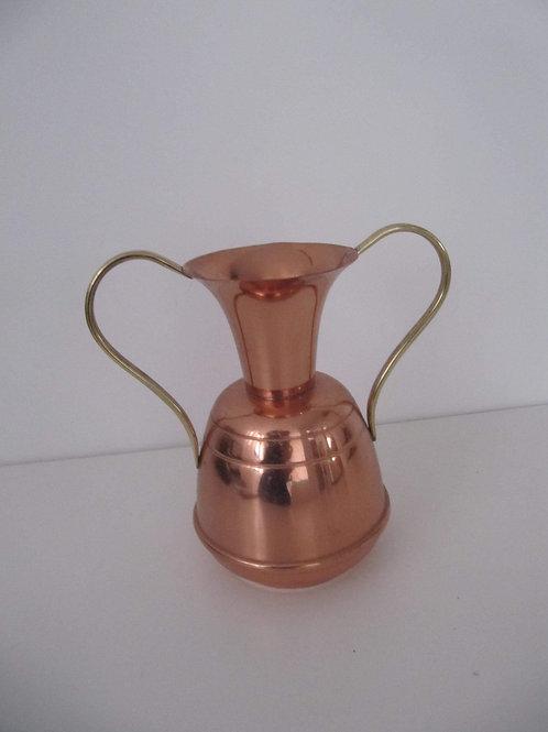 Vase cuivre avec anses