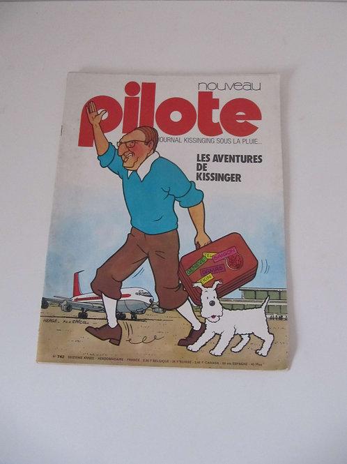 Magazine Pilote 1973 - prix port inclus