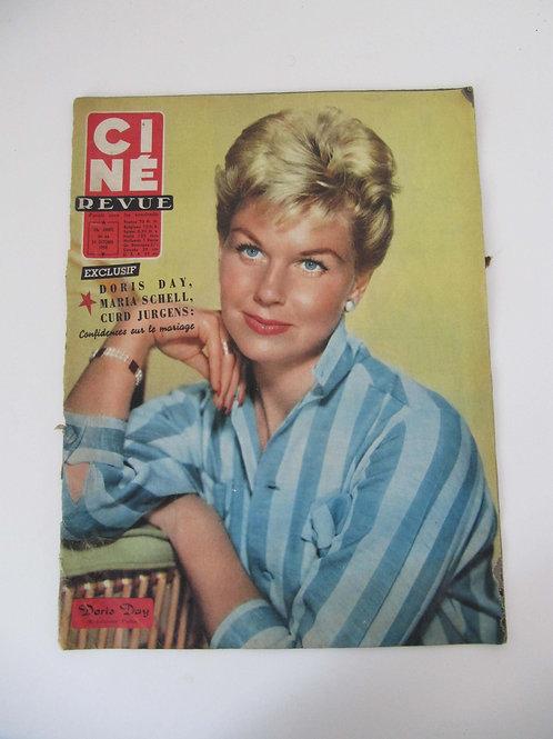 """Magazine Ciné-Revue de 1958 - """"Port inclus"""""""