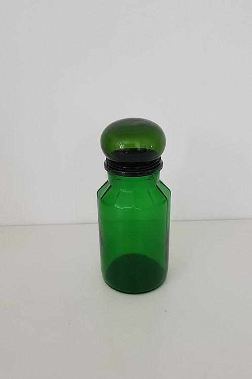Pot à café vintage verre vert