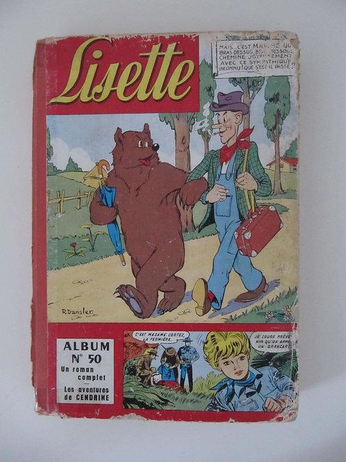 """Lisette - album de 1961 - numéro 50 - """"Port inclus"""""""