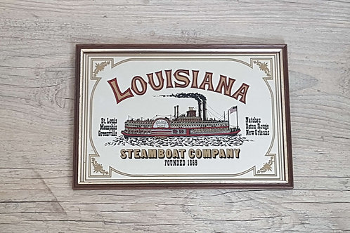 Miroir publicitaire vintage Louisiana