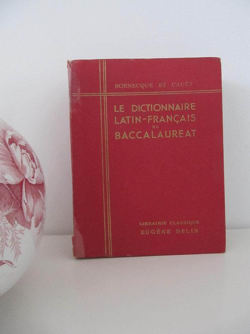 """Dictionnaire ancien Latin-Français de 1938 - """"Port inclus"""""""