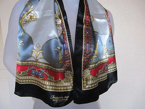 Foulard cravate vintage Pierre- Port inclus