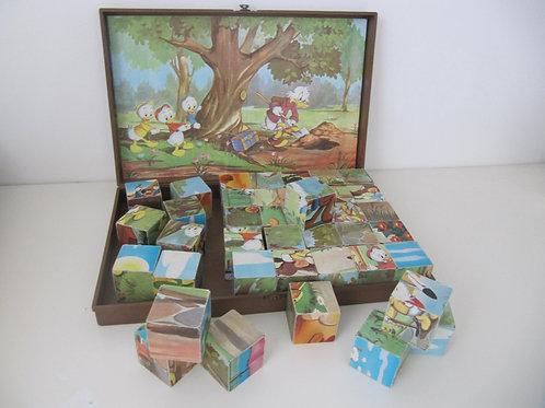 Jeu de cubes vintage - Mickey