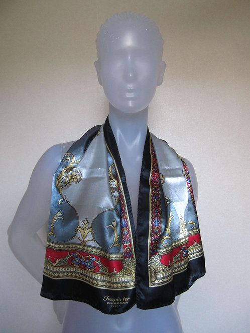 Foulard cravate vintage Pierre- Port inclus