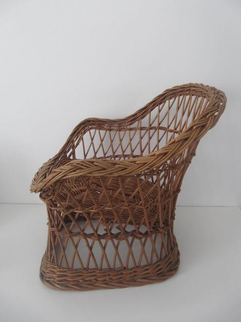 fauteuil rotin enfant vintage maman ne jette rien vide grenier objets insolites. Black Bedroom Furniture Sets. Home Design Ideas