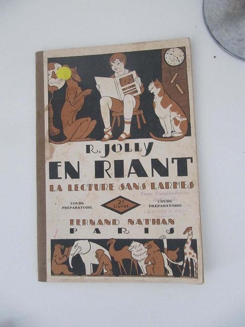 """Livre de lecture scolaire de 1951 - """"Port inclus"""""""