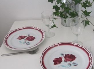 """Quand la table se met aux """"roses""""!"""