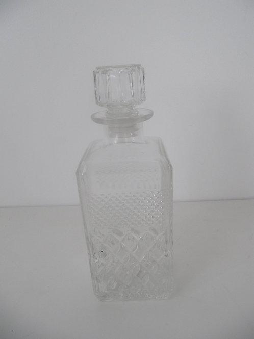 Carafe à whisky vintage - verre