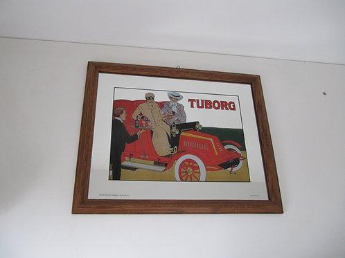 Miroir publicitaire Tuborg vintage