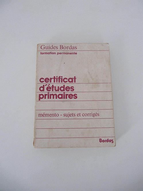 """Memento scolaire de 1981 -""""Port inclus"""""""