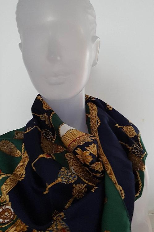 Foulard vintage Laura Morelli - Port inclus