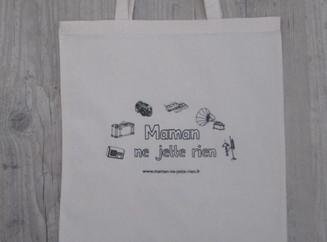 """La sac shopping """"Maman ne jette rien"""" est arrivé!"""