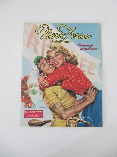 """Magazine Nous deux de 1956 - """"Port inclus"""""""