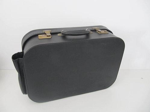 Valise noire vintage Lancel