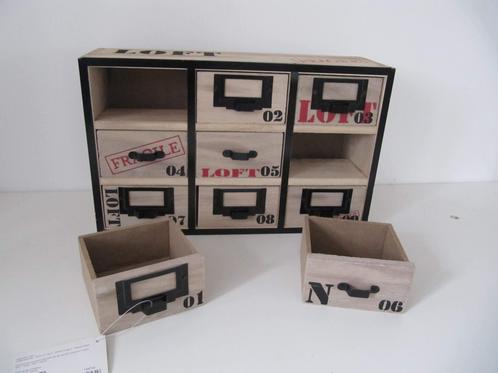 Mini meuble tiroirs esprit loft maman ne jette rien for Mini meuble tiroir
