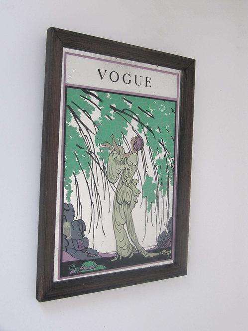 Miroir Vogue Art Déco des années 70