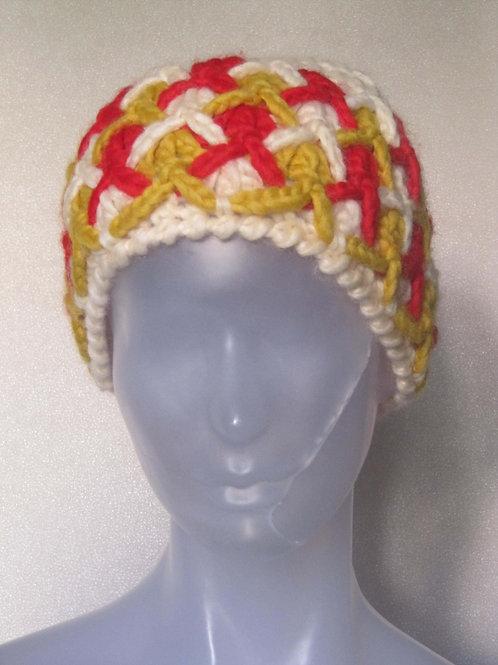 Bonnet laine vintage - port inclus