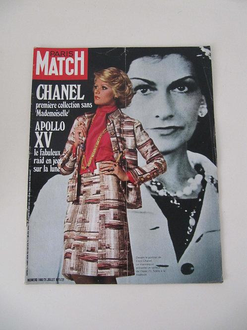 """Paris Match de juillet 1971 - """"Port inclus"""""""