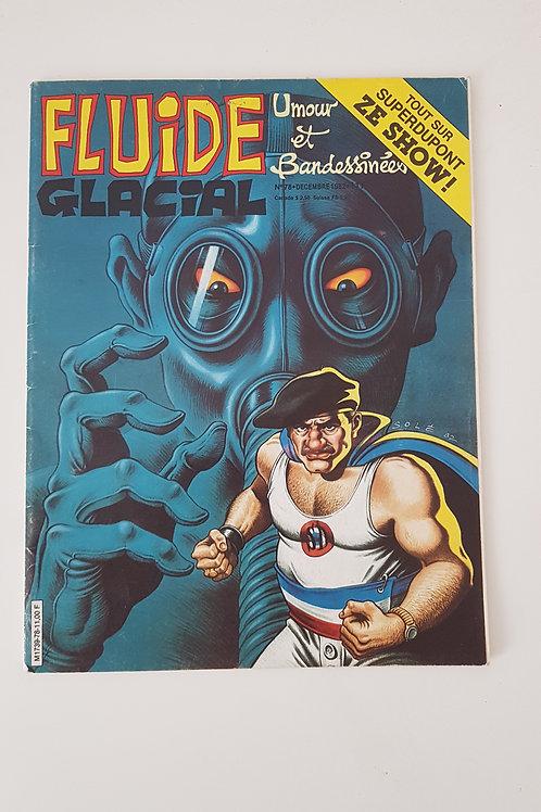 """Fluide Glacial de 1962 - Super Dupont- """"Port inclus"""""""
