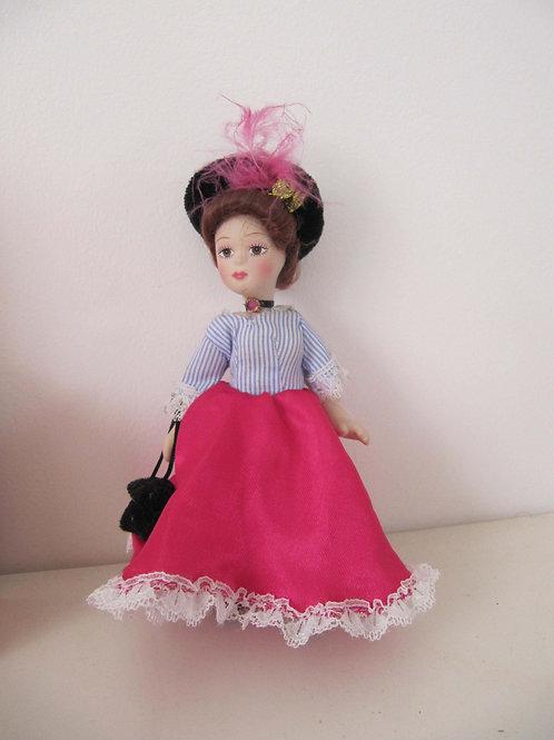 La Parisienne - poupée miniature de collection