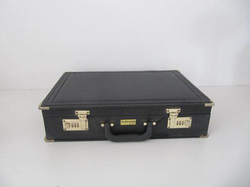 Attaché caisse noir vintage Sollinger