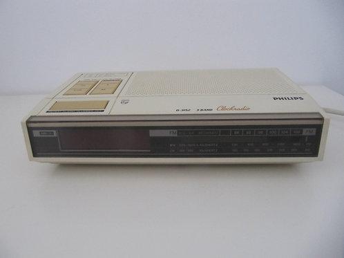 Radio-réveil Philips- Vintage