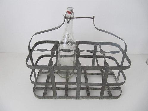Porte bouteilles métal ancien