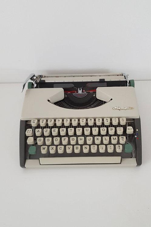 Machine à écrire portative Olympia Deluxe - Vintage
