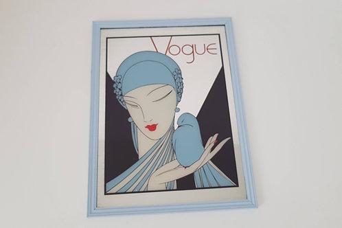 Miroir publicitaire Vogue Vintage