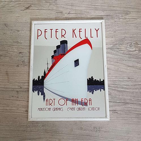 Miroir publicitaire Peter Kelly - London