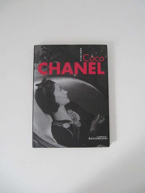 "Coco Chanel - Les citations - ""Port inclus"""