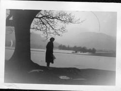 Floods in Side Farm meadow Nov 1954