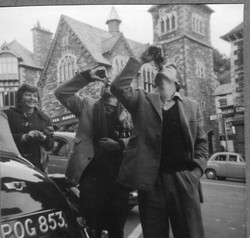 Jane, William and Nigel Newberry