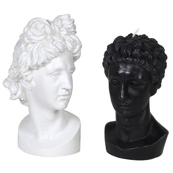Venus and Hermes Candles (Black)