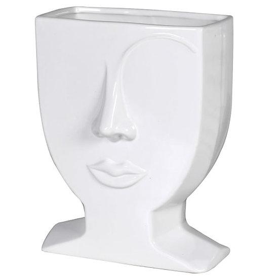 Female Eyebrow Ceramic Vase