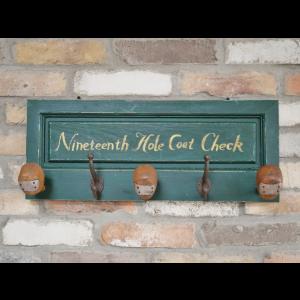 Golf Club Coat Hook