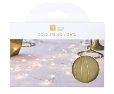 Party LED Lights GOLD
