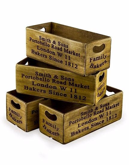 Portobello Wooden Boxes