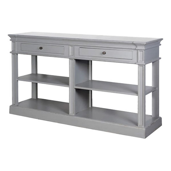 Grey Dresser / Display Shelf