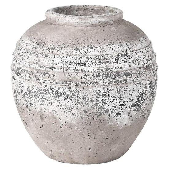 Distressed Stone Vase