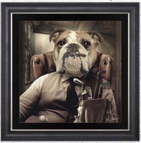 Bulldog Mafia Vegas Frame