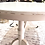 Thumbnail: Distressed Extendable Wooden Oval Table