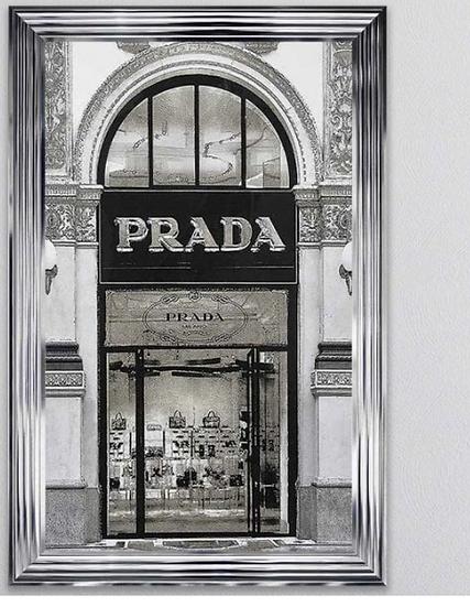 Prada Shop Front Wall Art