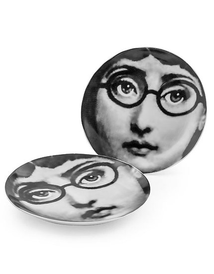 Lady Glasses Plate